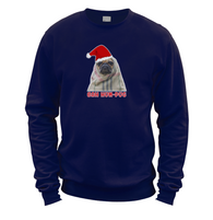 Bah Hum Pug Sweater