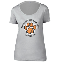 Marmalade Exploration Co Womens Scoop Neck T-Shirt