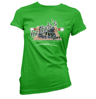 The Dudes Rug Store Womens T-Shirt