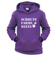 Schrute Farms Beets Kids Hoodie