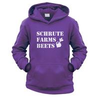 Schrute Farms Beets Kids Hoodie