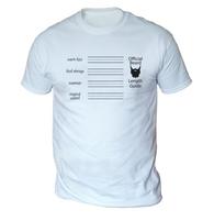 Beard Length Guide Mens T-Shirt