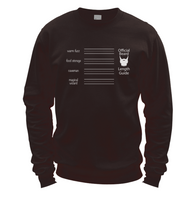 Beard Length Guide Sweatshirt
