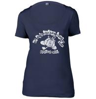 Sir Digby Chicken Caesar Womens Scoop Neck T-Shirt