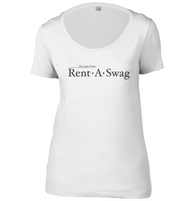 Rent a Swag Womens Scoop Neck T-Shirt