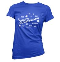 Numberwang Womens T-Shirt