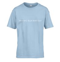 Save Blue Shirt Guy Kids T-Shirt
