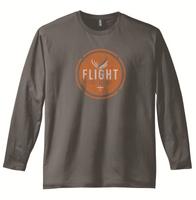Flight Outfitters Retro Logo Long Sleaved T Shirt - SkySupplyUSA