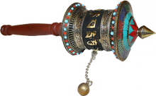 Handmade Tibetan Prayer Wheel at Tibet Spirit
