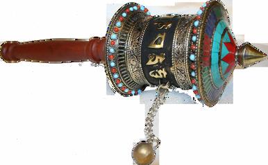 Handmade Tibetan Prayer Wheel at Tibet Spirit