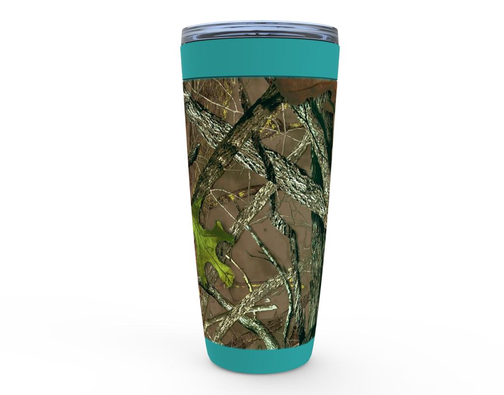 Ladies Camouflage Mug with Aqua