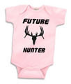 Future Hunter Girl Onesie for baby girls that want to grow up and be like mom and dad that hunt
