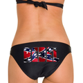 Rebel Flag Bikini Bottom With The Word Rebel