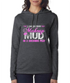 Makeup to Mud Lightweight Hoodie for Country Girls or Southern Girls - Great Gift