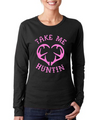 Junior fit take me hunting shirt