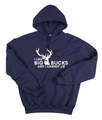 I Like Big Bucks and I Cannot Lie Navy Blue Hoodie