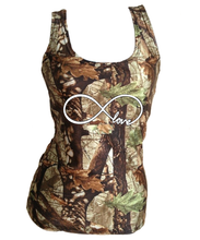 Camouflage Infinity love Tank Top