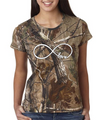Infinity Love Camouflage Tee Shirt By Realtree