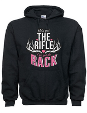 Hoodie For Country Girls With He's Got The Rifle and I've Got The Rack Graphic