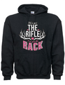 Funny Hunting Hoodie For Women With Husbands That Hunt