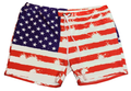 American Flag Shorts For Women
