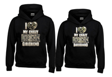 I Love My Redneck Boyfriend and Girlfriend Hoodies - Matching For Couples