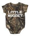 Realtree Camo Baby Onesie - Little Nugget