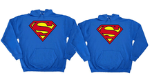 Superman Couples hoodie set