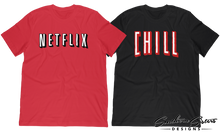Netflix and chill couples t shirts set