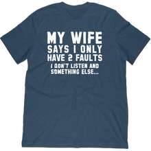 Funny Husband Shirt About Not Listening