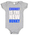 Chunky Is The New Hunky Baby Romper