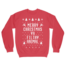 Red ugly Christmas Sweater National Lampoon Christmas Vacation
