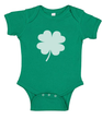 Shamrock St Patty's Day Baby Onesies Green