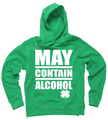 Today's Special May Contain Alcohol Green St Patty's Day Hoodie Unisex