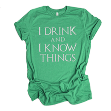 This is not an ordinary t shirt. This is a high quality Tri BLend t shirt with the famous quote on it. Great for St Paddy's day.
