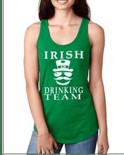 Leprechauns and Hats on this ladies Irish Drinking Team Top