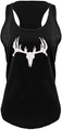 County Girl Deer Skull And Antler Tank Top