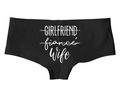 Girlfriend Fiance Wife Panty - Boy Shorts