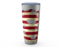 Distressed Flag Tumbler