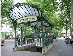 the Paris Métro designed by Hector Guimard