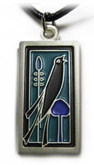 Talwin Morris Song Bird Jewelry BY Jae Salvage