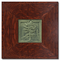 Whistling Frog Tile with Dard Hunter Frame