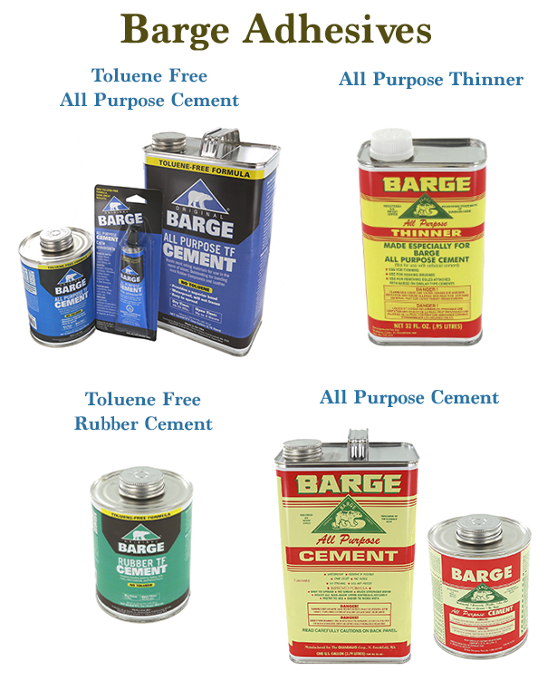 Barge Adhesives And Cements How To Use Them And
