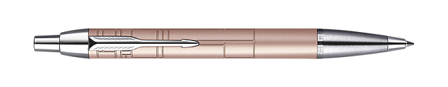 Bút bi Parker IM Premium Ballpoint Pen, Medium Point - Metallic Pink with Chrome Trim