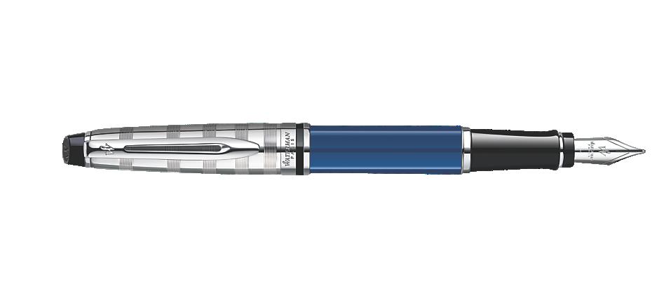 Bút Waterman EXPERT Deluxe Blue Fountain Pen CT