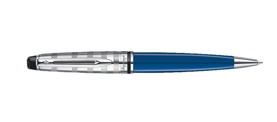 Bút Waterman EXPERT Deluxe Blue Ballpoint CT