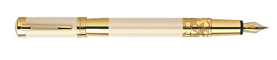 Bút Waterman Elegance Ivory Gold Trim - Ngòi M - Mực đen - S0891330 tinh xảo