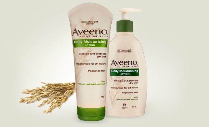 Các sản phẩm kem dưỡng ẩm Aveeno