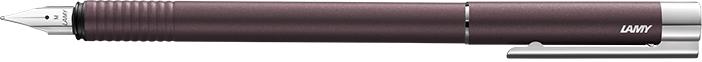 Bút Lamy Logo - Màu Twilight (nâu) - Ngòi F - L06 Twilight