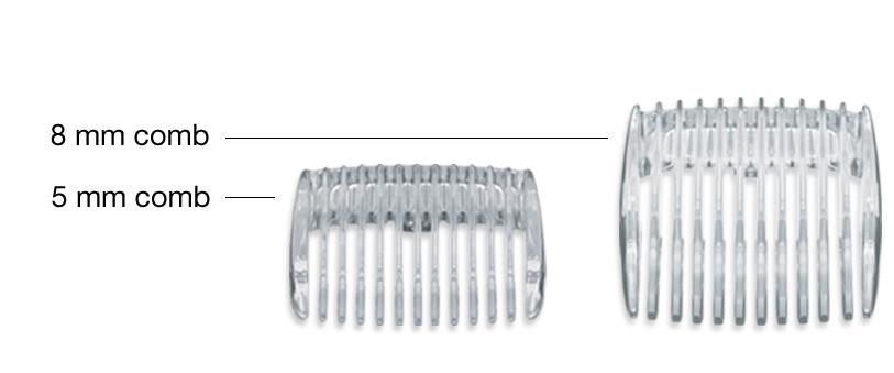 Lược hỗ trợ cắt tỉa lông vùng kín